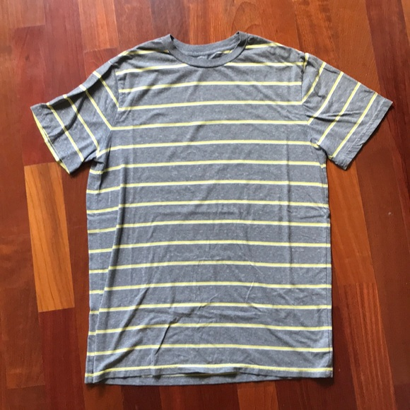 Mossimo Supply Co Shirts Mossimo Supply Co Gray Yellow Striped